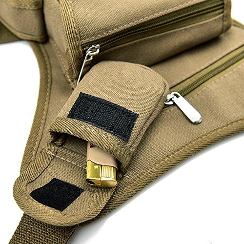 0c9ae9ada8c91 ... Reiten Segeltuch Taille Und Beine Paket Draußen Taktische  Vielseitigkeit Angelzubehör 6
