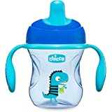 Chicco Training Cup, 1 Bicchiere Antigoccia Bambini 200 ml, Una Tazza 6+ Mesi per Imparare a Bere, con Beccuccio Ergonomico S