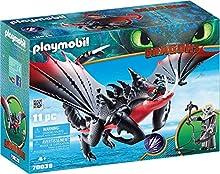 Playmobil Dragons 70039 - Pinzamortale e Grimmel, dai 4 anni