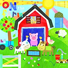 Happy Spaces Jill Mcdonald On The Farm - Cuadro Decorativo para habitación Infantil (50 x