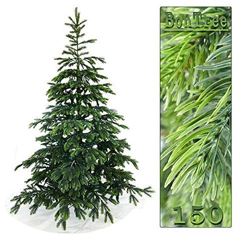 Künstlicher Tannenbaum 150 cm BonTree Fichte Weihnachtsbaum PE/PVC-Mix