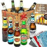 Biere der Welt | Inkl. Bierbuch uvm. | Geschenkidee für Ihn zu Valentinstag