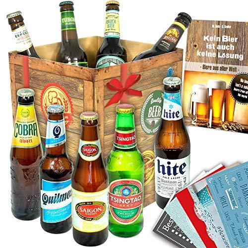 Biere der Welt | Inkl. Bierbuch uvm. | Geschenkidee für Ihn zu Weihnachten