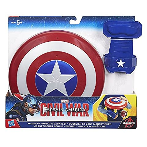 Hasbro Marvel Captain America Civil War Magnetic Shield and Gauntlet - America Del Magnete