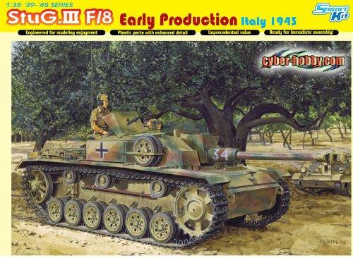 Dragon 500776620 - 1:35 Sturmgeschütz III Ausführung F/8 Early Production, Modellbau