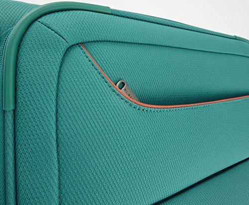 Travelite SOLARIS 4 Rad Trolley S, 88147-01 Koffer, 54 cm, 36 L, Schwarz/Limone - 5