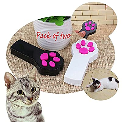 ANG Cat Catch the LED Light Interactive Exercise Toy Cat Training Tool (Pack of 2)