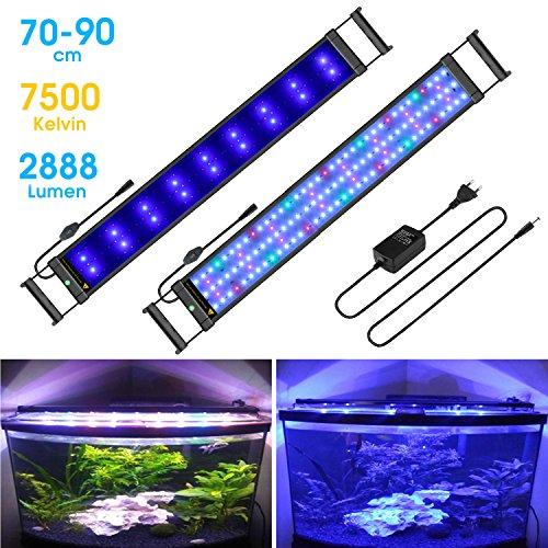 BELLALICHT Aquarium LED Beleuchtung Aquariumbeleuchtung Weiß Blau Rot Grün - Fall Blaue Led
