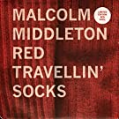 Red Travellin' Socks