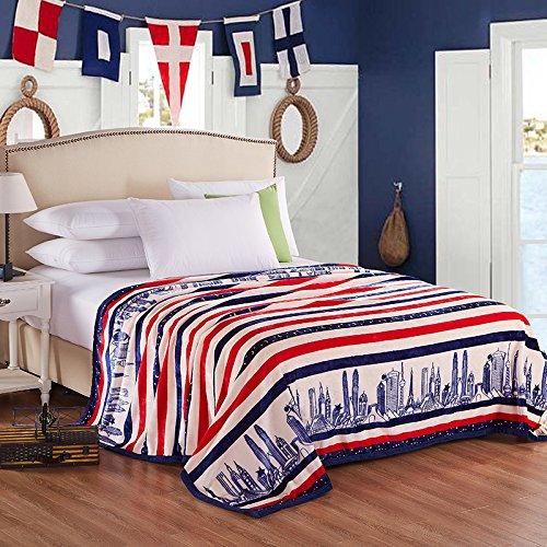 Super de peluche y cómodo cálido franela manta sofá y TV manta...