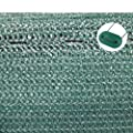TOP MULTI 21715ga1828-0002 Tennis-Sichtschutz grün 1m x 25m, Zaun-Blende reißfest, UV-resistent, wetterfest von Top Multishop GmbH bei Gartenmöbel von Du und Dein Garten