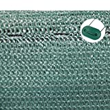TOP MULTI 21715ga1828-0002 Tennis-Sichtschutz grün 1m x 25m, Zaun-Blende reißfest, UV-resistent, wetterfest