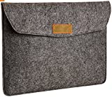 #7: Protokart Premium Felt Laptop Sleeve for Laptop, iPad, MacBook, Tablet, Chromebook etc Upto 13.3 inch, Felt Material with Two Mobile Pouch and Two Compartments