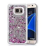 Best Galaxy S6 Phone Case - Xelcoy® Bling Sparkle Glitter Stars Dynamic Liquid Quicks Review