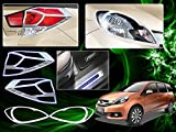 Chrome-Plated-Premium-Quality-Accessories-For-Honda-Mobilio-Set-Of-3-Pcs.