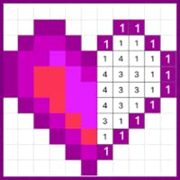 Pixel Coloring by Number