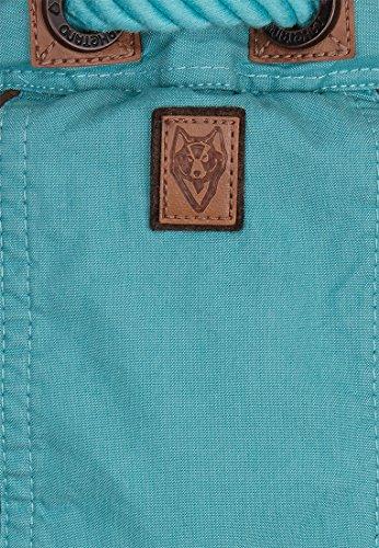 Damen Jacke Naketano Halbes Stündchen Ins Mündchen Jacke Turquoise