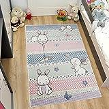 TAPISO HAPPY Kinder Teppich Kurzflor