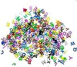 Beyond Dreams ABC Konfetti Buchstaben für Kinder | Geburtstag Tisch Dekoration | Deko für Transparente Luftballons | Schuleinführung Einschulung Schulanfang Geschenk | Kinder Party Deko
