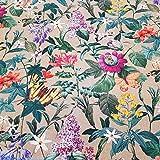 Werthers Stoffe Stoff Meterware Baumwolle Blumen Blüten