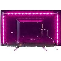 Led TV Hintergrundbeleuchtung,2M USB Led Beleuchtung Hintergrundbeleuchtung Fernseher USB für 40 bis 60 Zoll HDTV,TV…