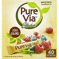 Pure Via 40 Sticks Stevia 60 g