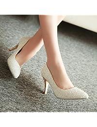 7485bd6c10836 BBSLT Nouvelles D Été Princesse Coréenne Cristal Blanc Chaussures De  Mariage Mariage Chaussures Unique Clair Chaussures À Talons…