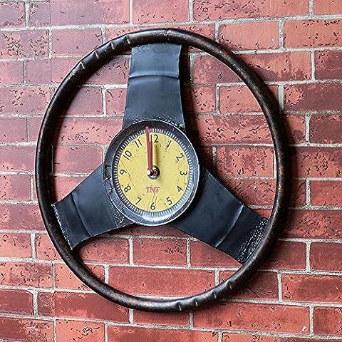CLG-FLY moda moderna retro simple Creative Arts Europa y el salón del Reloj de pared#5