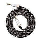 smallelectric 3,5-mm 4er Pack Nylon geflochtenen-Audio Kabel (150/1,5m) verwicklungsfreies AUX-Kabel für Beats Kopfhörer, iPods, iPhones, iPads, Home/Auto-Stereoanlagen und mehr (Multicolor) - 6