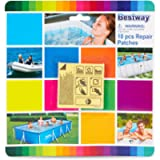 Bestway 2.5in x 2.5in Flowclear Underwater Adhesive Repair Patches (10 Patches)