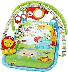 Mattel Fisher-price Chp85 Rainforest-freunde Spieldecke, 3-in-1