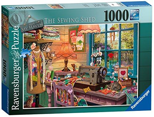 Ravensburger My Haven Keine 4. Die nähen Schuppen Spielset Puzzle, 1000Einzelteile