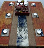 Sucastle® 35X200cm Tuch Tischläufer Hochzeit Tischband ,abwaschbar (Farbe wählbar),Meterware,Tischwäsche,stoffähnliches Vlies, Party, Catering , Vereinsfeier ,Geburtstag