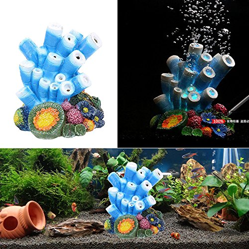 Berrose Simulation Koralle Seeanemone Schale Gefälschte Wassergras Muschel Dekoration Aquarium Landschaft Kunststoff Kunstharz Coral Vent Korallen geformte Ornament Dekor