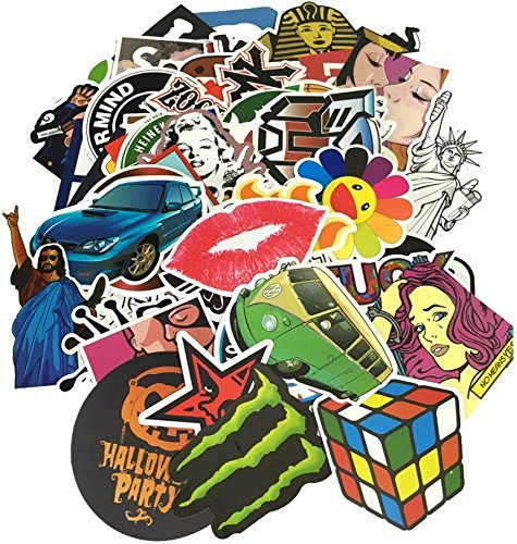 StickerFactory (Pack of 100) Best Vinyl Decal