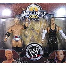 JEFF HARDY & MR. KENNEDY - WRESTLEMANIA 24 2-PACK EXCLUSIVE WWE TOY WRESTLING ACTION FIGURES by Jakks Pacific