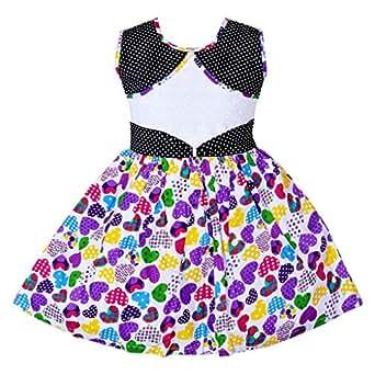 f08ab49149cb Wish Karo Baby Girls Cotton Frock Dress DN (2-3 Years