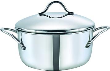 Prestige Prima Stainless Steel Casserole, 260 ml, Silver