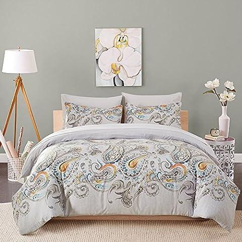 Dushow confortable Phoenix Motif 3pièces Parure de lit de Housse de couette et housses d'oreiller, doux en microfibre, Coton, multicolore, King(200cm*300cm)