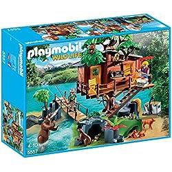Playmobil Wild Life Adventure Tree House Niño/niña juego de construcción - juegos de construcción (Multicolor, 4 año(s), Niño/niña, 10 año(s), 32 cm, 60 cm)