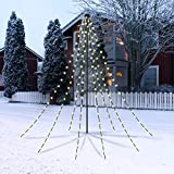 CHRISTmaxx LED-Lichterpyramide 2 m