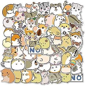 100 piezas lindo hámster animales