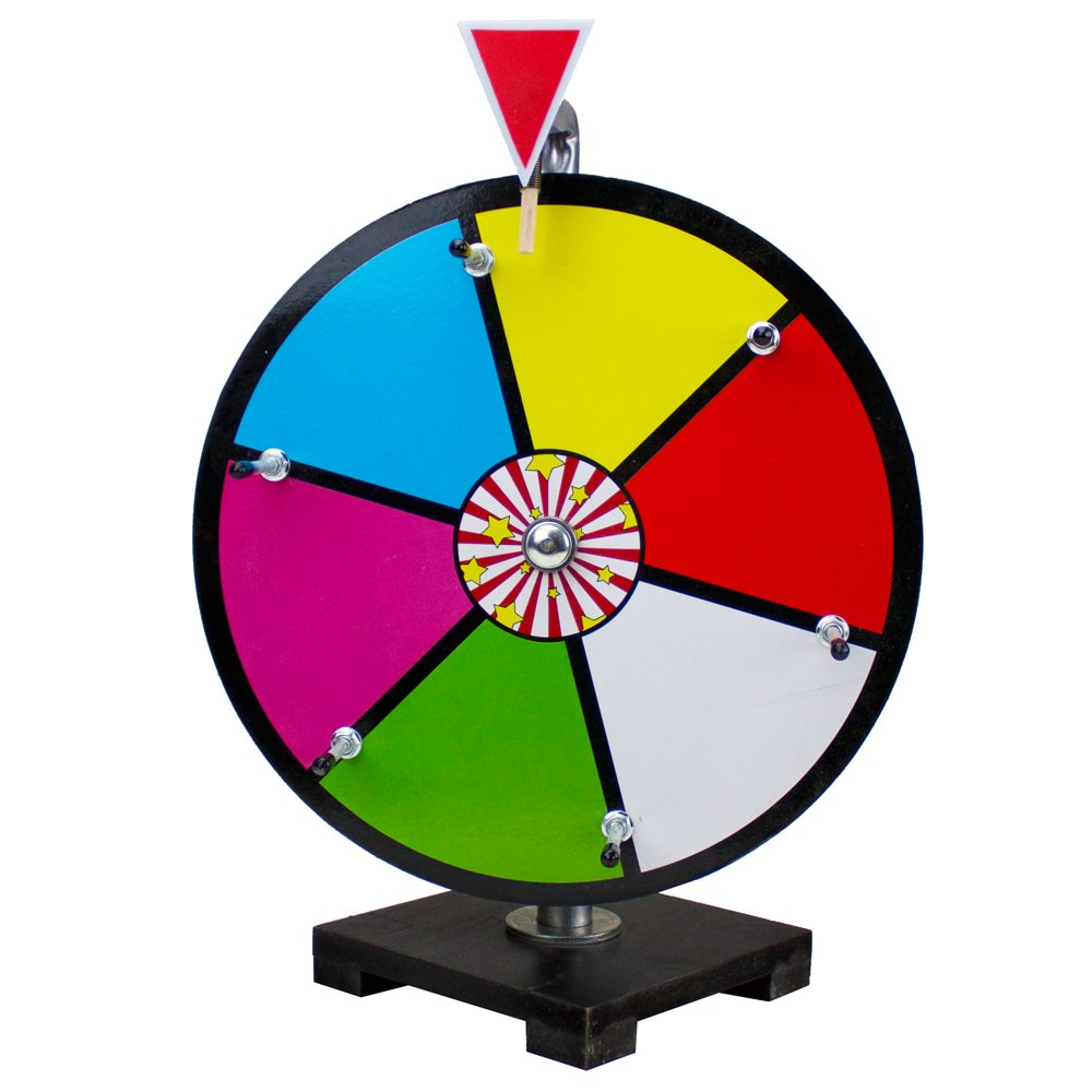 Midway Monsters color Dry Erase Prize Wheel (30,5�cm)