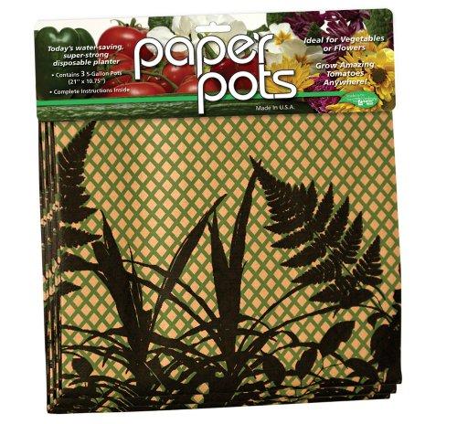 Luster Leaf Paper Pots Farn, 520 -