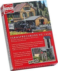 Busch - Edificio ferroviario de modelismo ferroviario H0 Escala 1:87 (BUE1428)