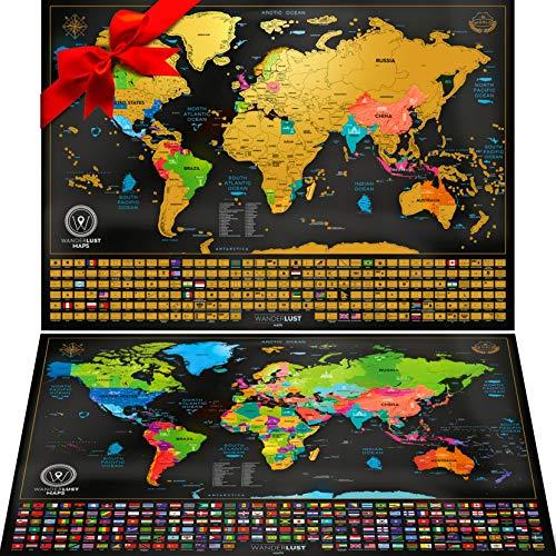 Mapa Mundi Rascar viene Mapa Sorpresa Mapa