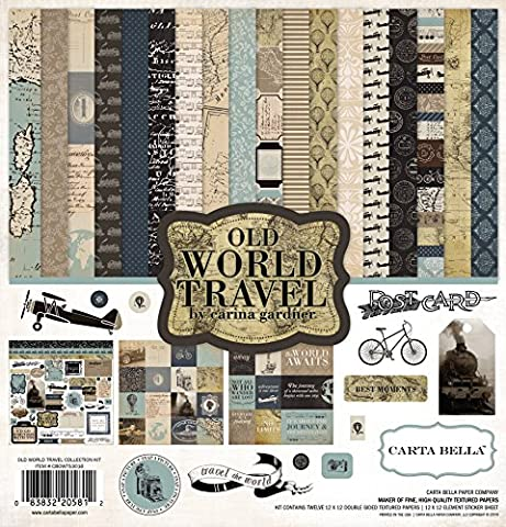 Echo Park Paper Carta Bella Collection Kit 12-Inch x 12-Inch-Old