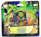 Kit de Figuras de Ben 10. Feral y Fuego