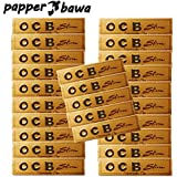 Papper Bawa Gold OCB King Size Rolling Paper Pack Of 25 (800 Leaves)