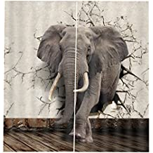 Suchergebnis Auf Amazon De Fur Kinderzimmer Gardinen Elefant